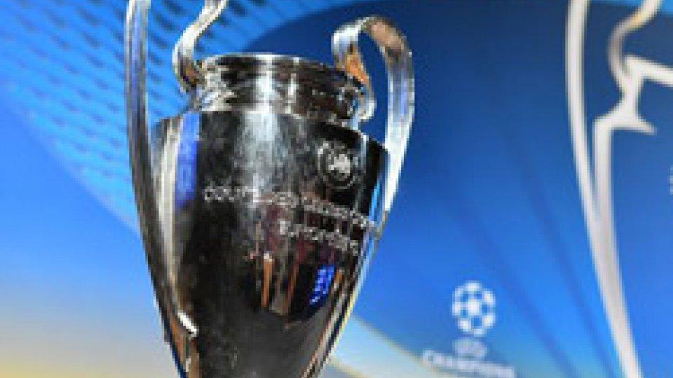Champions League: la Juve pesca l'Atletico Madrid, la Roma va con il Porto