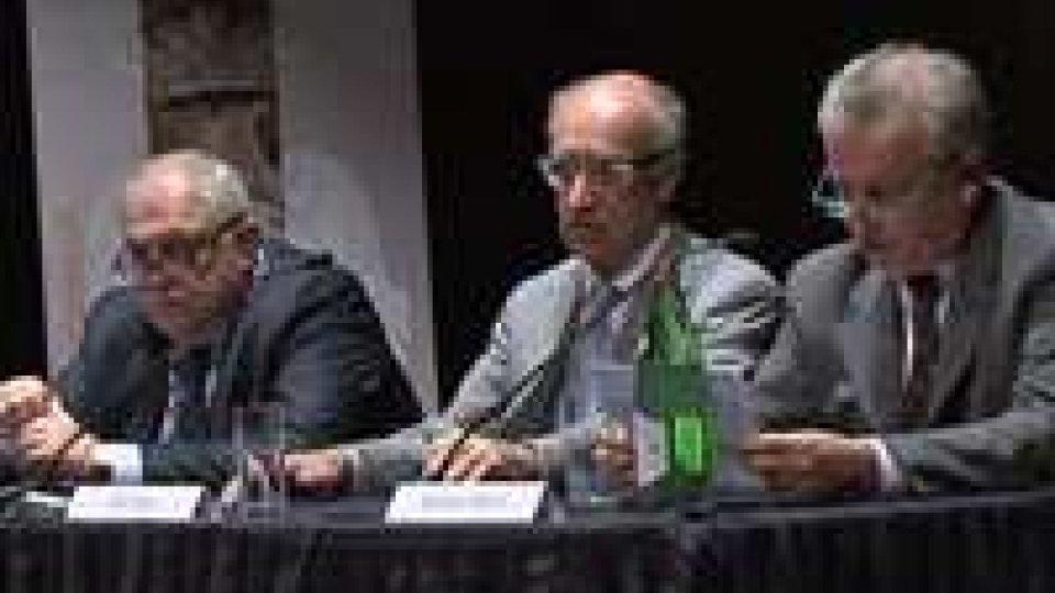I membri della Rubiconia Accademia dei Filopatridi a San MarinoI membri della Rubiconia Accademia dei Filopatridi a San Marino