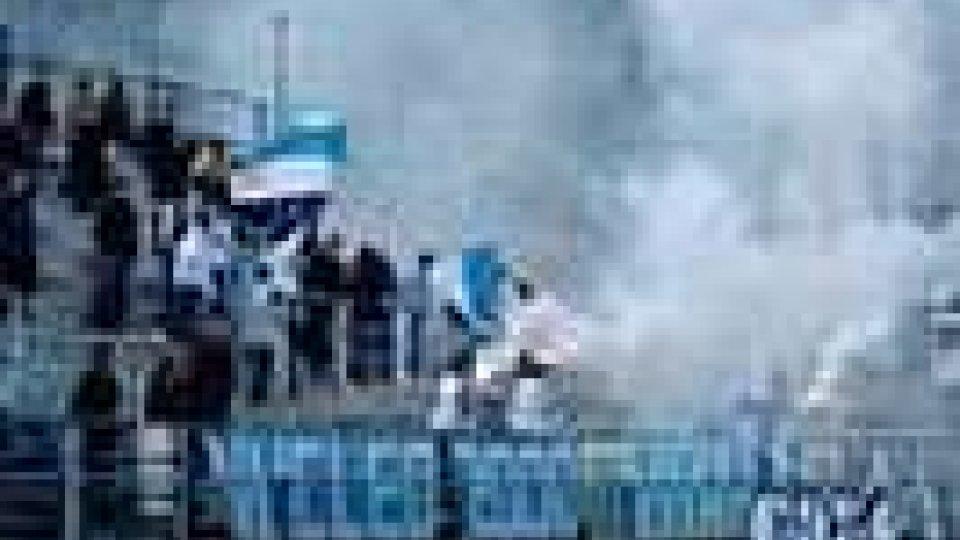 San Marino Calcio: i tifosi festeggiano la salvezza