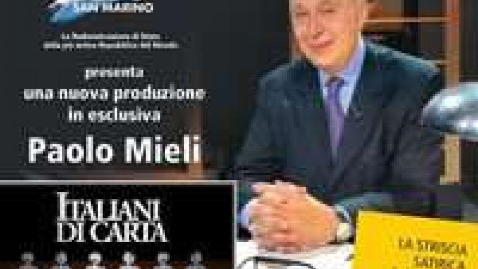 """Rtv: dal 25 aprile """"Italiani di carta"""" con Paolo Mieli"""
