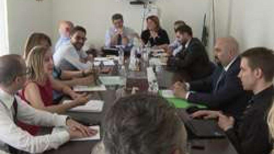 Confronto Palazzo Mercuri Governo CategorieLegge sviluppo: nuovo confronto del governo con sindacati e categorie economiche