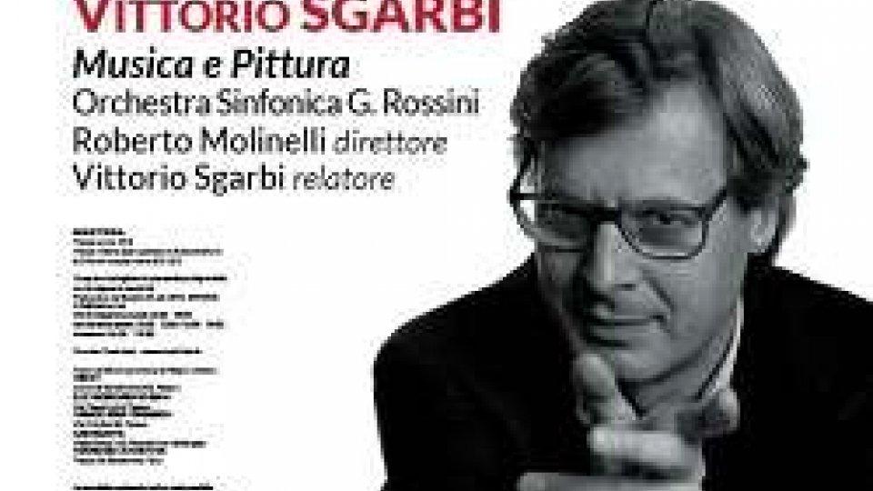 Musica e Pittura con Vittorio Sgarbi a Pesaro