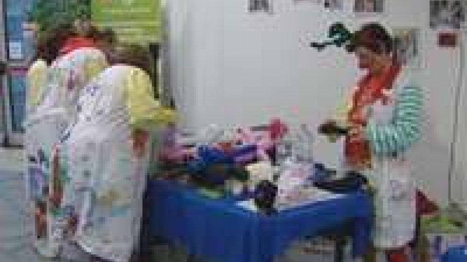 Clownterapia al centro Azzurro