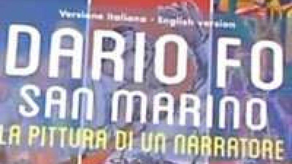 Presentato il catalogo ufficiale della mostra Dario Fo a San Marino