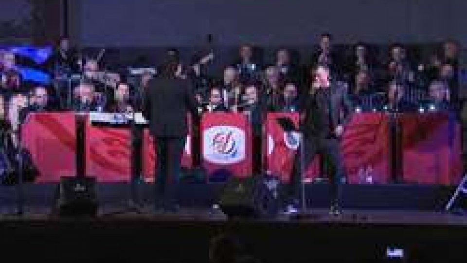la San Marino Concert BandMusica pro-infanzia: la San Marino Concert Band di scena a Domagnano