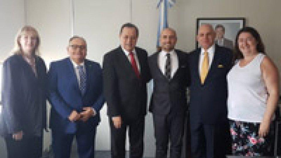 Il Segretario Santi in Argentina