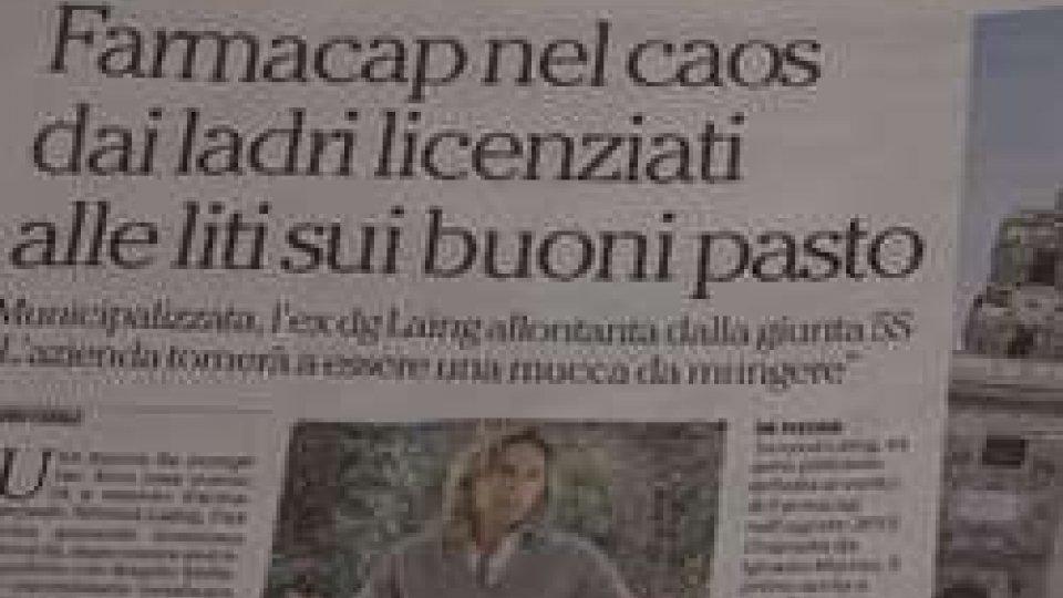 Il Caso Farmacap sui quotidianiA Roma scoppia il caso farmacie comunali: dirigente licenziata nonostante conti in attivo