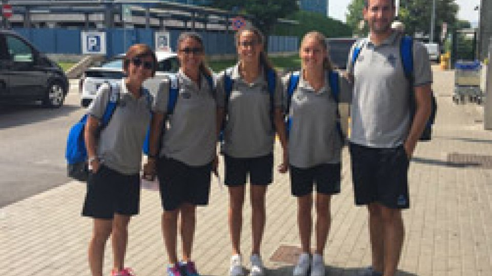 Sincro, Mondiali Junior: la delegazione biancazzurra è a Budapest