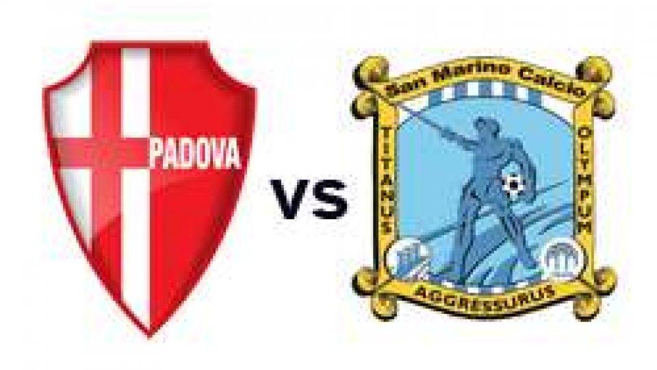Amichevole: Padova - San Marino