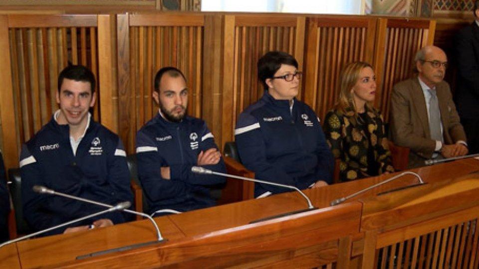 i nostri ragazzi 'Special'Special Olympics, i Reggenti ricevono la delegazione di San Marino in vista dei Mondiali