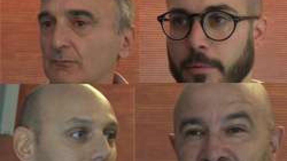 Sergio Conti, Alan Gasperoni, Luca Nanni, Massimo GhiottiTutti pronti per una stagione da protagonisti