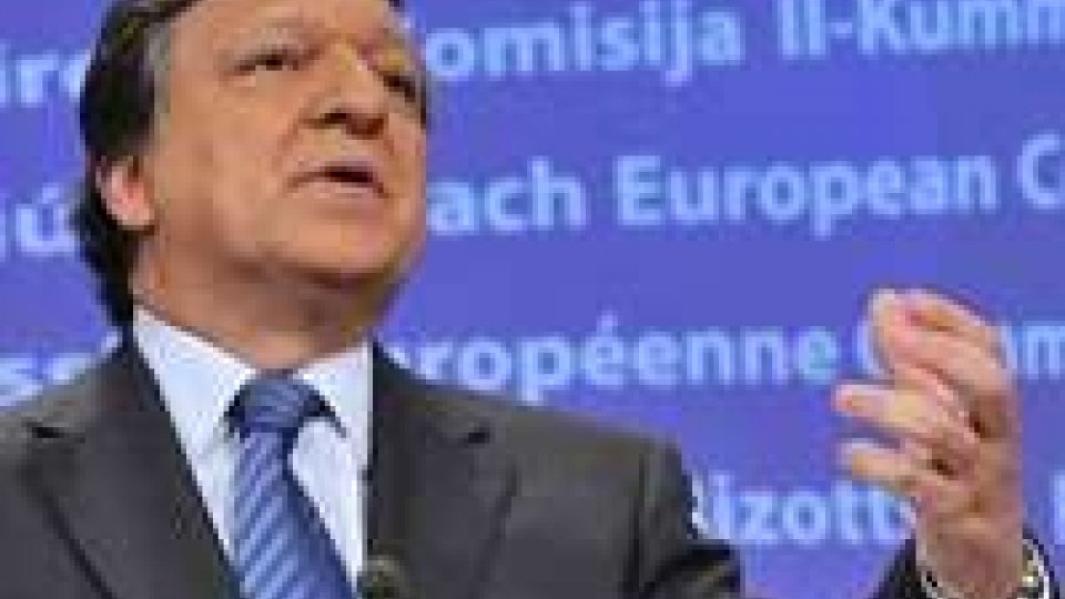 """Barroso: """"Situazione italiana decisiva anche per l'Europa""""."""