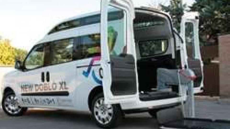 """Il nuovo """"van"""" del Comitato Paralimpico"""