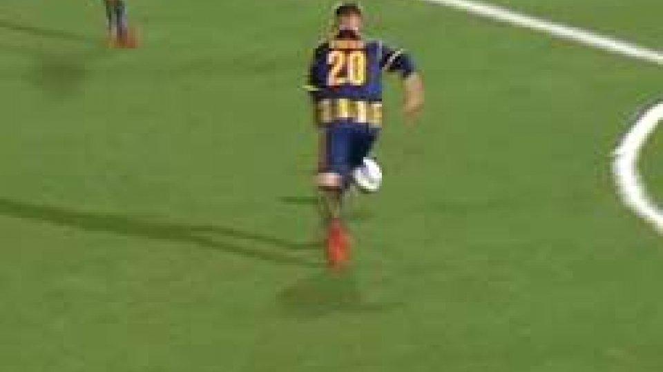 Il Gol di Filippo BerardiPlayoff Serie C: Filippo Berardi segna e la Juve Stabia avanza