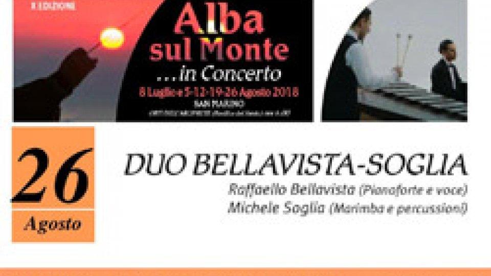Ultimo concerto all'alba: grande attesa per il duo Bellavista – Soglia