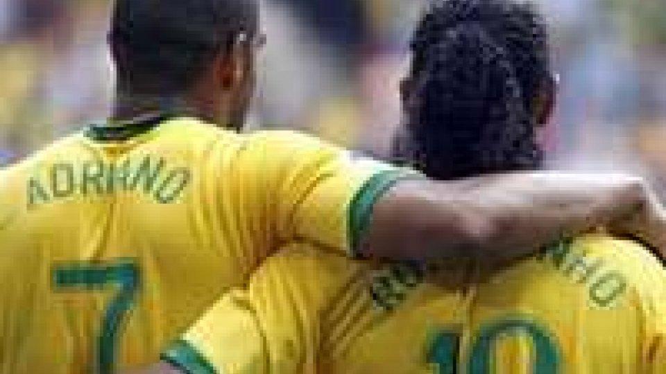 Dinho e Adriano, le solite bravate