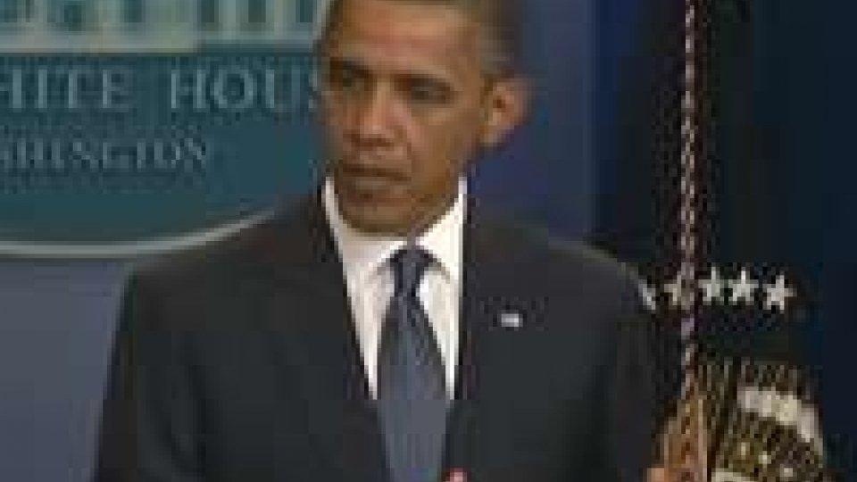 """Obama: """"Forte apprezzamento per il premier Monti"""""""