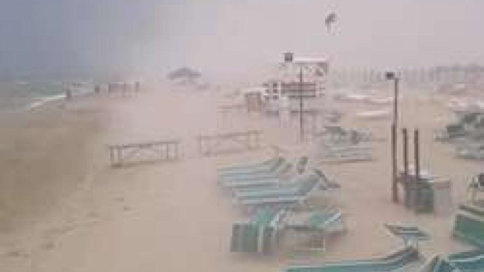 Vento in spiaggia
