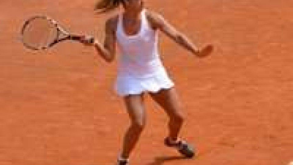 Tennis: Gioia Barbieri fa tremare la Razzano