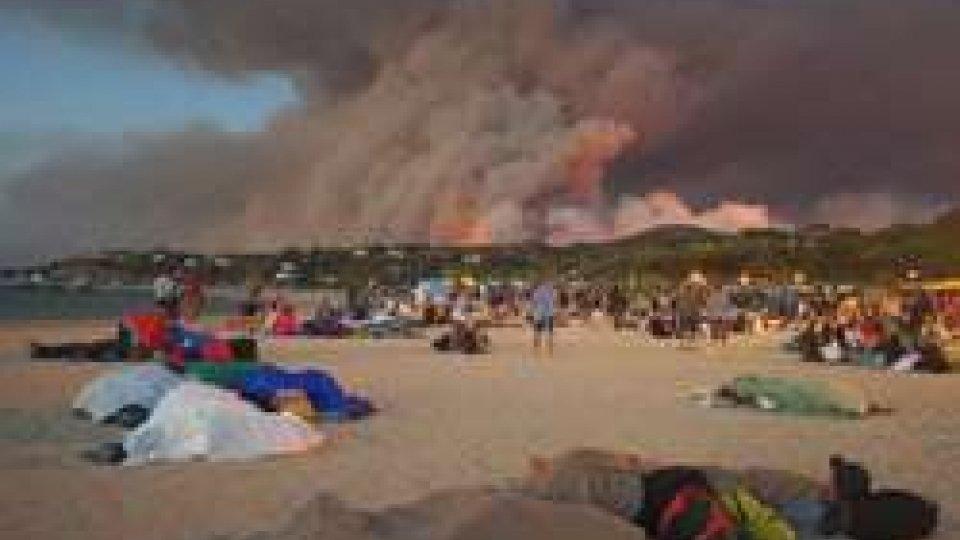 Incendi in Francia