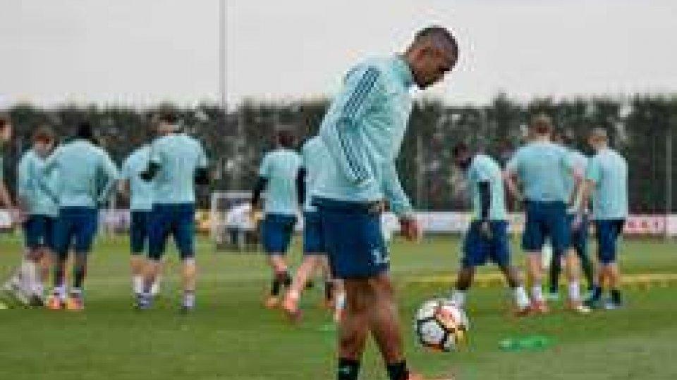 La Juve si prepara per il Real Madrid