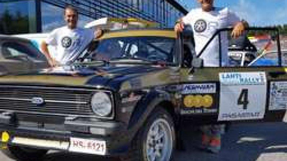 """Giuliano Calzolari e Silvio StefanelliHistoric Lathi Rally: Il """"Lupo"""" Calzolari protagonista in Finlandia"""