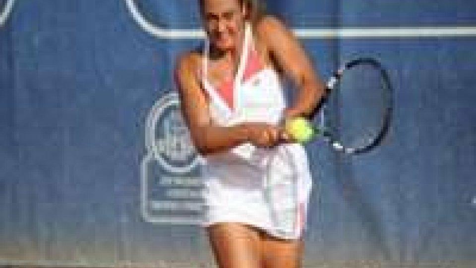 Tennis: Gioia Barbieri ko all'ITF di Padova