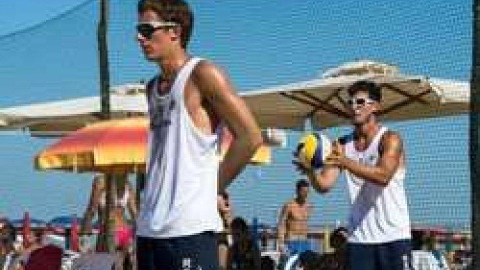 Beach Volley: Benvenuti e Farinelli sconfitti all'esordio nella finale degli Italiani