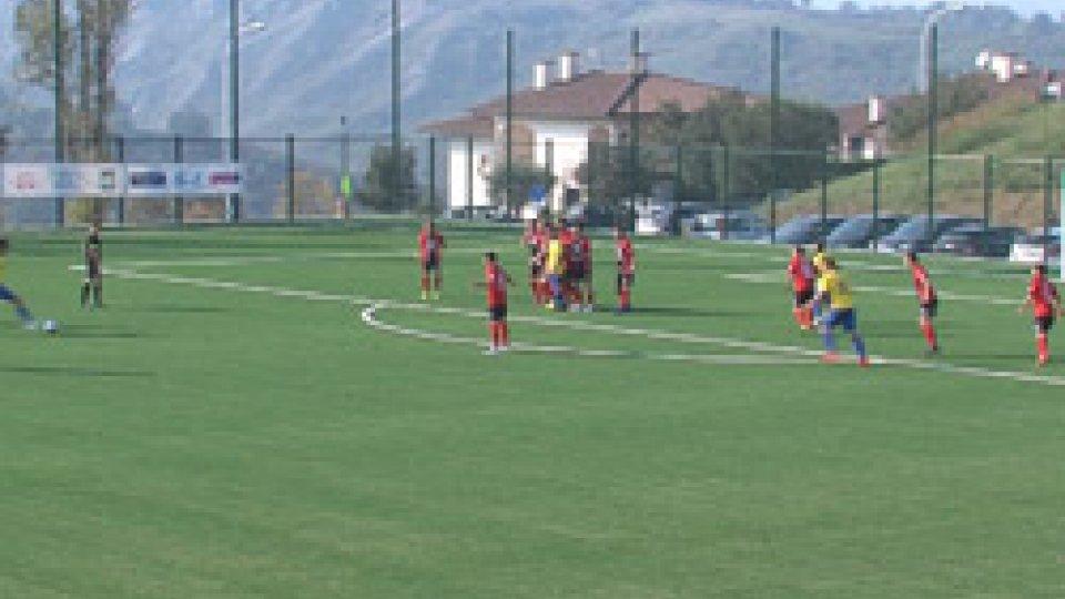 Tre Fiori-Folgore 2-0All'Acquaviva Stadium, Tre Fiori batte Folgore 2-0