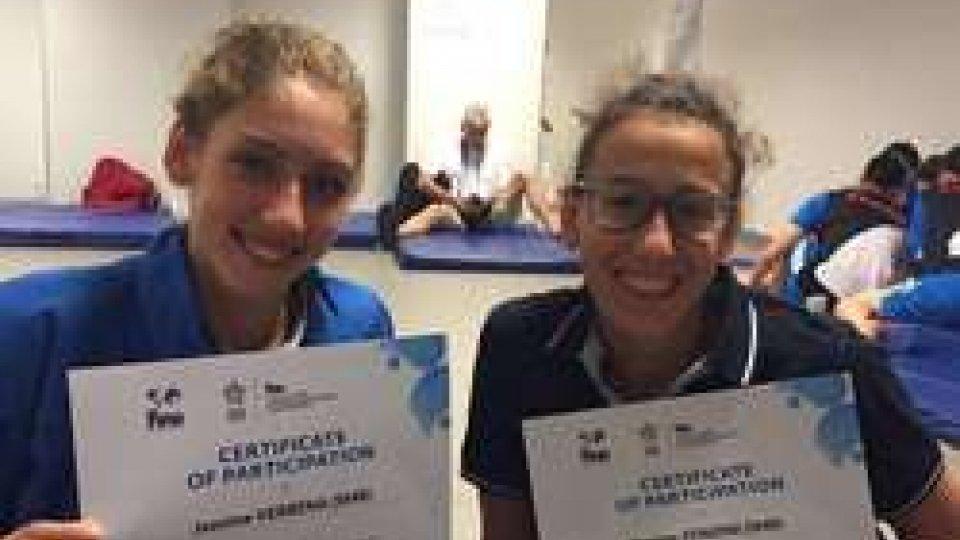 Nuoto sincronizzato, Verbena e Zonzini pronte per gli Europei Junior