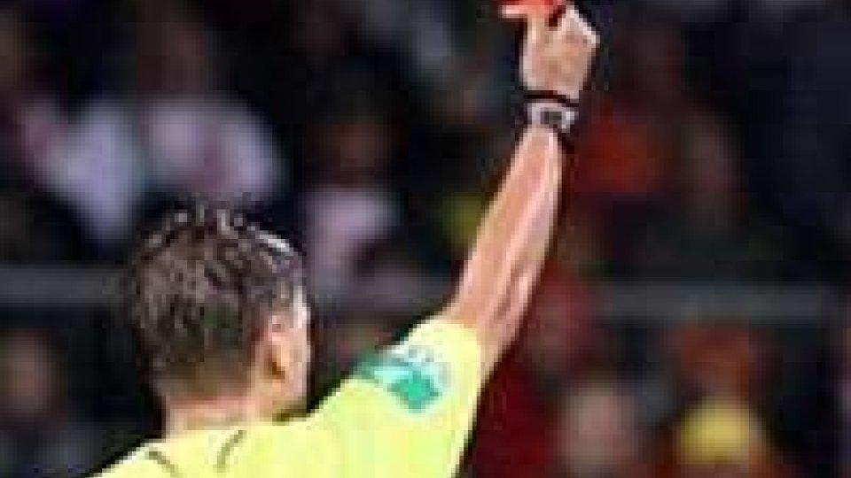 Coppa Titano: 1° giornata Play-Off , le designazioni arbitrali