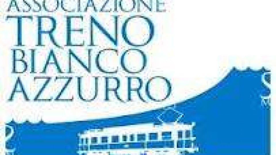 Il treno Bianco Azzurro