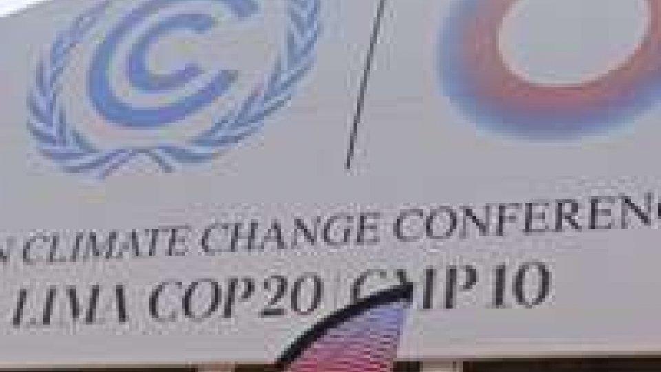 Conferenza sul clima a Lima: via libera a documento da approvare a Parigi