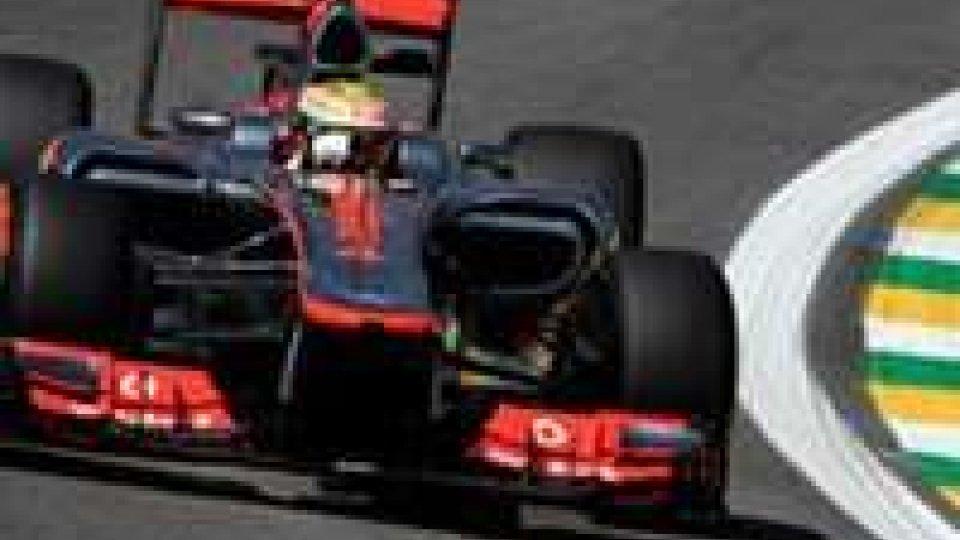 Hamilton il più veloce, Alonso è solo ottavo