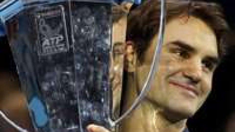 Roger Federer, sei volte vincitore del Master e detentore del titolo.