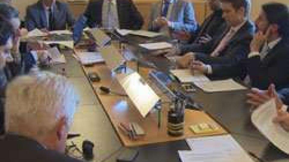 L'Ufficio di PresidenzaSan Marino: dalla prossima settimana il Consiglio su banche e Gendarmeria