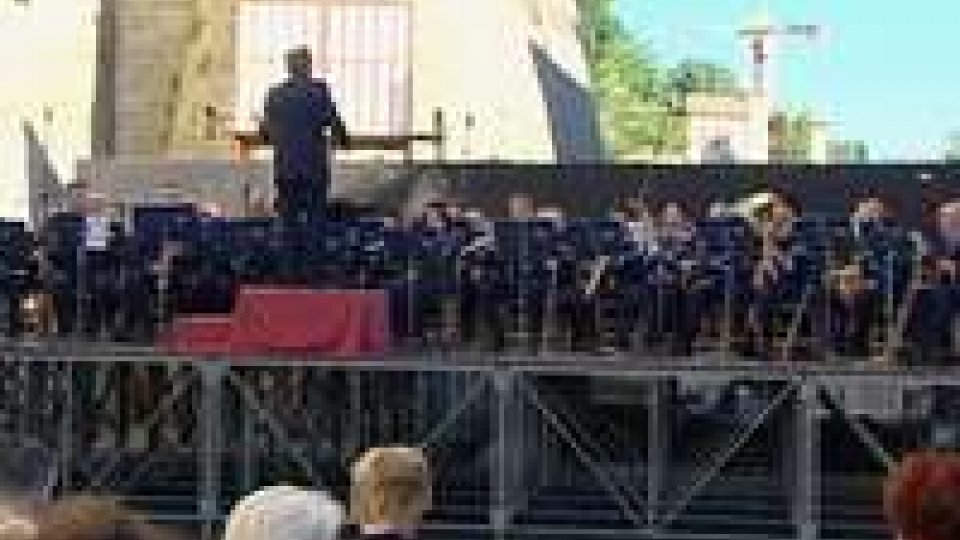Concerto della Banda Militare in onore della Repubblica