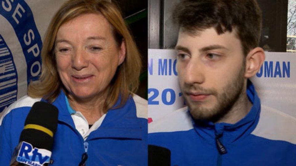 """Interviste a Ciucci e FrisoniCiucci/Frisoni: """"è stata una trasferta indimenticabile, una gioia immensa per San Marino"""""""