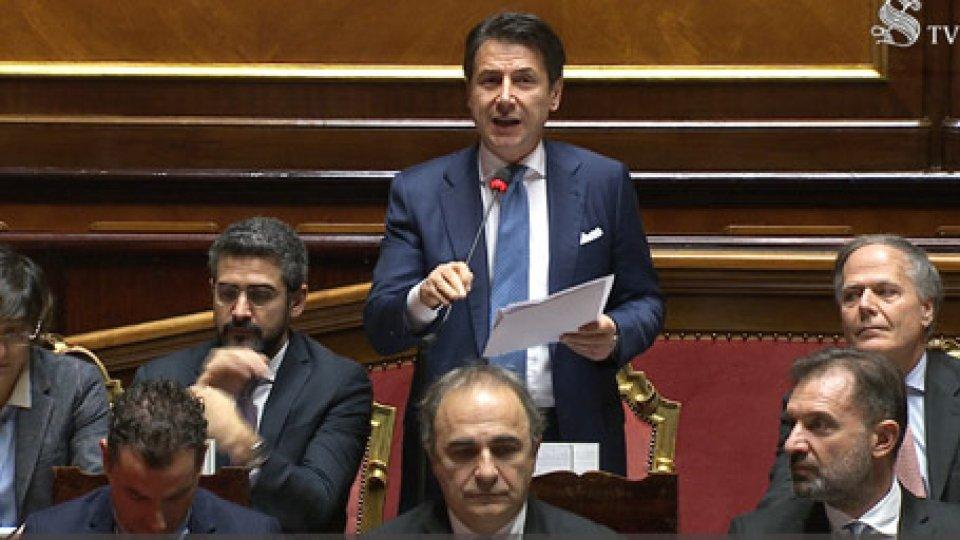 Conte al SenatoManovra: l'Ue non sanzionerà l'Italia, Governo soddisfatto ma le opposizioni sono critiche