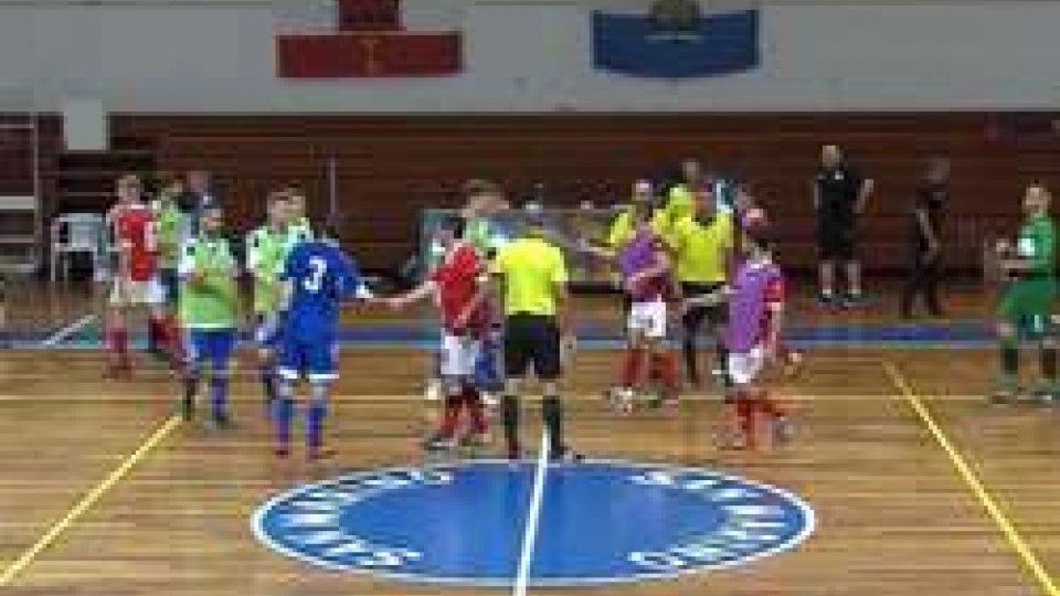 I sammarinesi trionfano 6-1 contro la GibilterraLa Nazionale di Futsal batte 6-1 Gibilterra e riscrive la storia