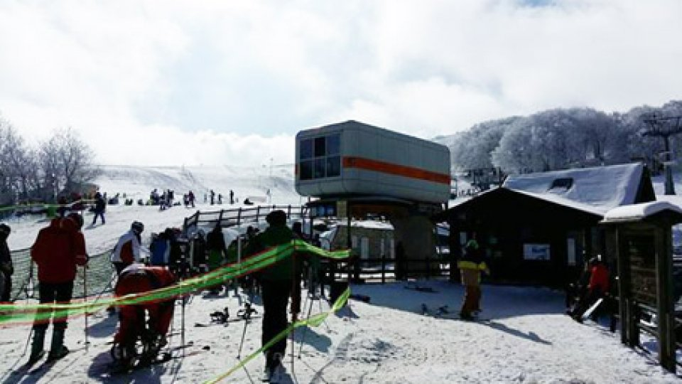 Da sabato aprono gli impianti sciistici del Monte Carpegna e Villagrande