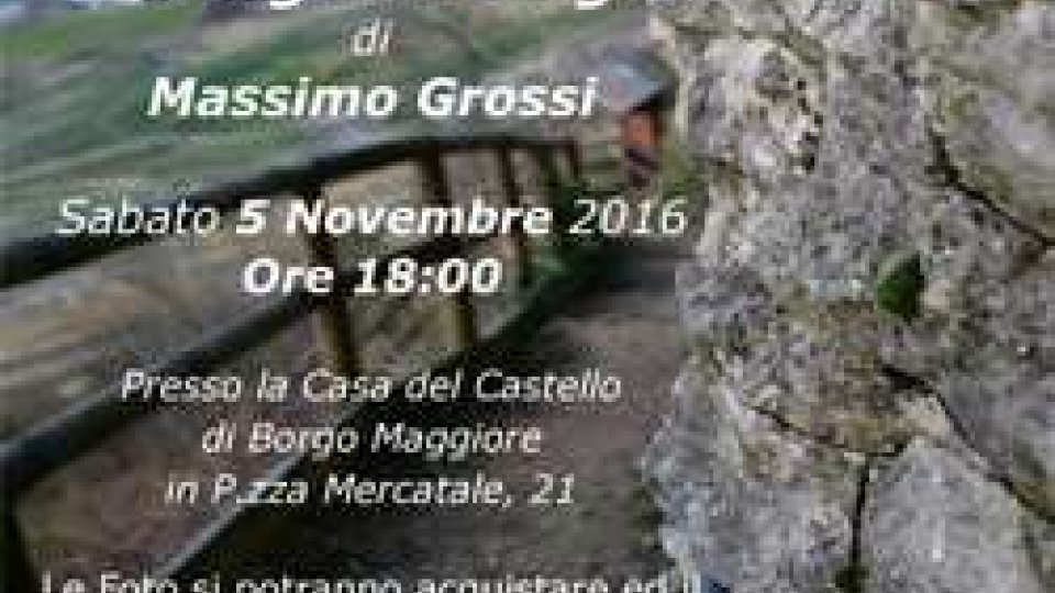 """Borgo Maggiore inaugurazione mostra """"Dettagli di Borgo"""" sabato 5 novembre"""