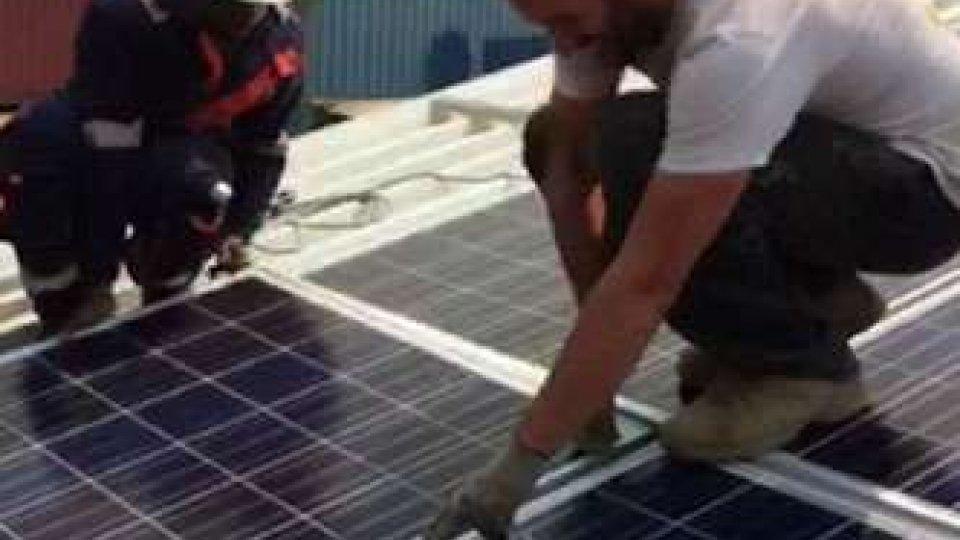 Congo, terminato il montaggio dei pannelli solari donati da San Marino alla Missione di Padre MarcellinoCongo, terminato il montaggio dei pannelli solari donati da San Marino alla Missione di Padre Marcellino