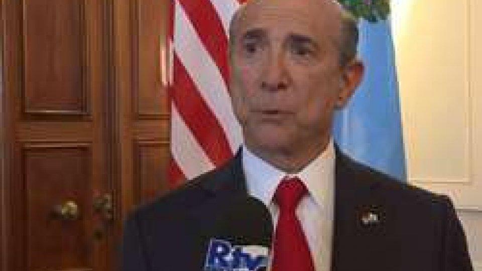 """Lewis EisenbergSan Marino accoglie il nuovo Ambasciatore Usa con una """"cerimonia mozzafiato"""""""