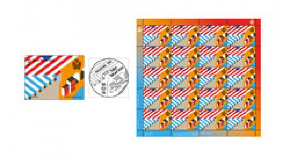 Serie di francobolli dedicata al bicentenario della presenza consolare statunitense a Firenze