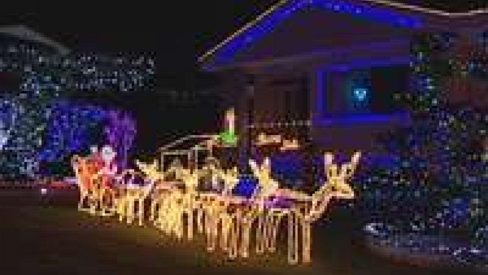 Natale: le luminarie di Città e Borgo MaggioreNatale: le luminarie di Città e Borgo Maggiore