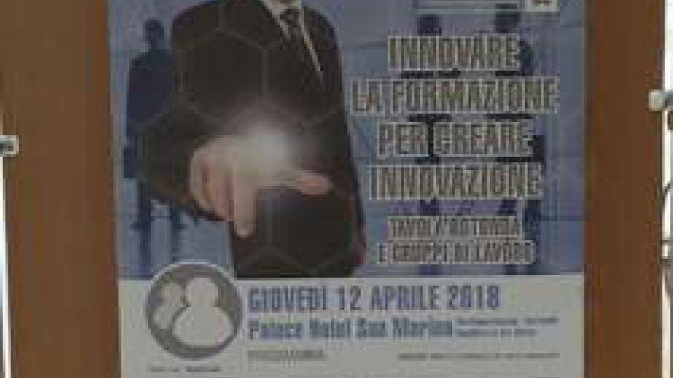 Locandina eventoSan Marino: al Palace imprese e professionisti al lavoro per l'innovazione