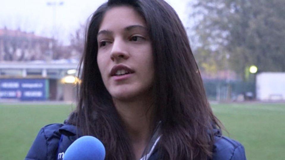 Giulia BaldiniSan Marino Academy corsara a Bologna, le interviste del dopo-gara