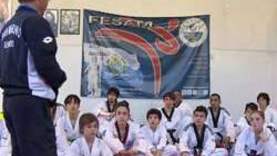 Taekwondo: seconda sessione del raduno con il Maestro Park per gli atleti iscritti al Club Taekwondo San Marino