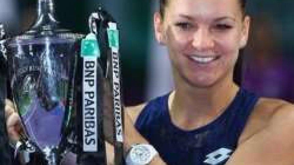 Radwanska batte Kvitova e vince WTA Finals